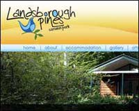 Web design client - Landsborough Pines Caravan Park
