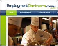 Web design client - Employment Partners