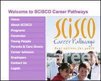 Web design client - SCISCO Career Pathways